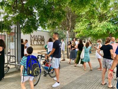 Escola Maria Ossó - Entrada inici Curs Escolar