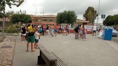 Miquel Utrillo - Entrada inici Curs Escolar