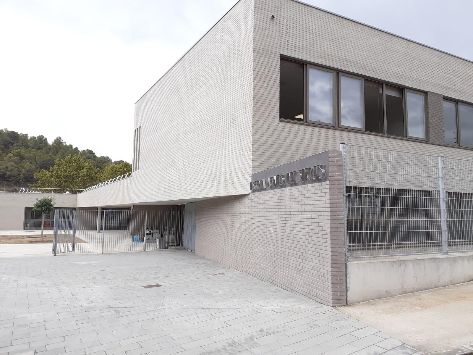 Sitges iniciarà el curs escolar 2021-2022 amb l'estrena de l'edifici nou de l'Escola Agnès de Sitges