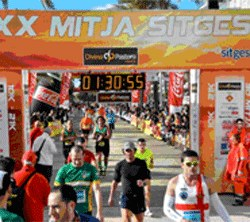 32ª Mitja Marató l'Aliança i 4rt Quart de Marató de Sitges l'Aliança. Gran Premi BBVA