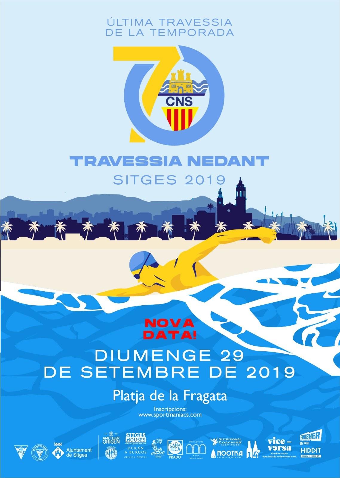 70a Travessia nedant de Sitges