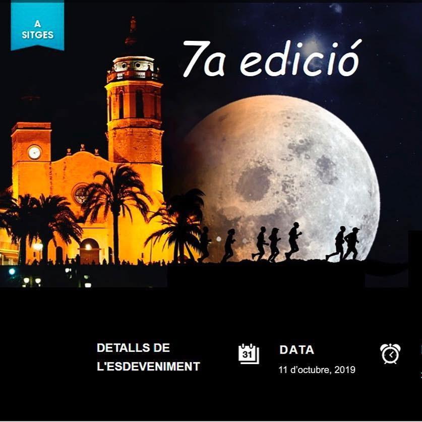 7ª Cursa solidària Nits de la Lluna Plena Sitges 2019