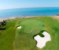 Inauguració del nou forat 3 del Club de Golf Terramar