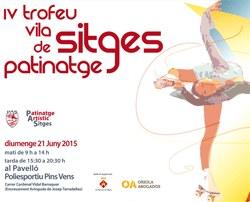 """IV Trofeu Vila de Sitges"""" de Patinatge Artístic"""