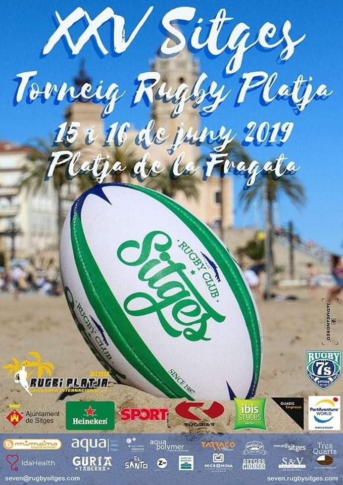XXV Sitges Torneig Rugby Platja