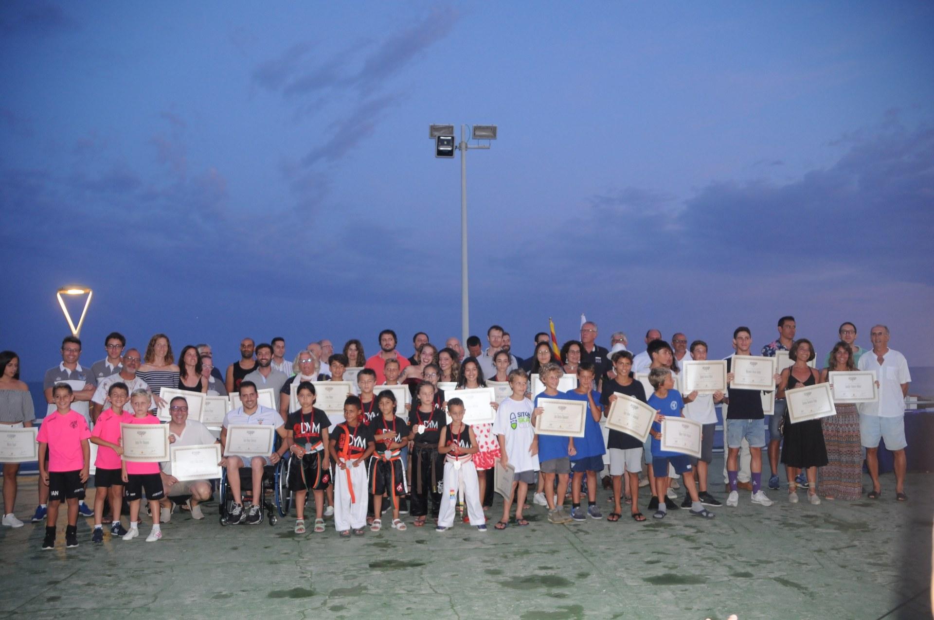 Els clubs, protagonistes de la XXXVI Nit de l'Esport Sitgetà