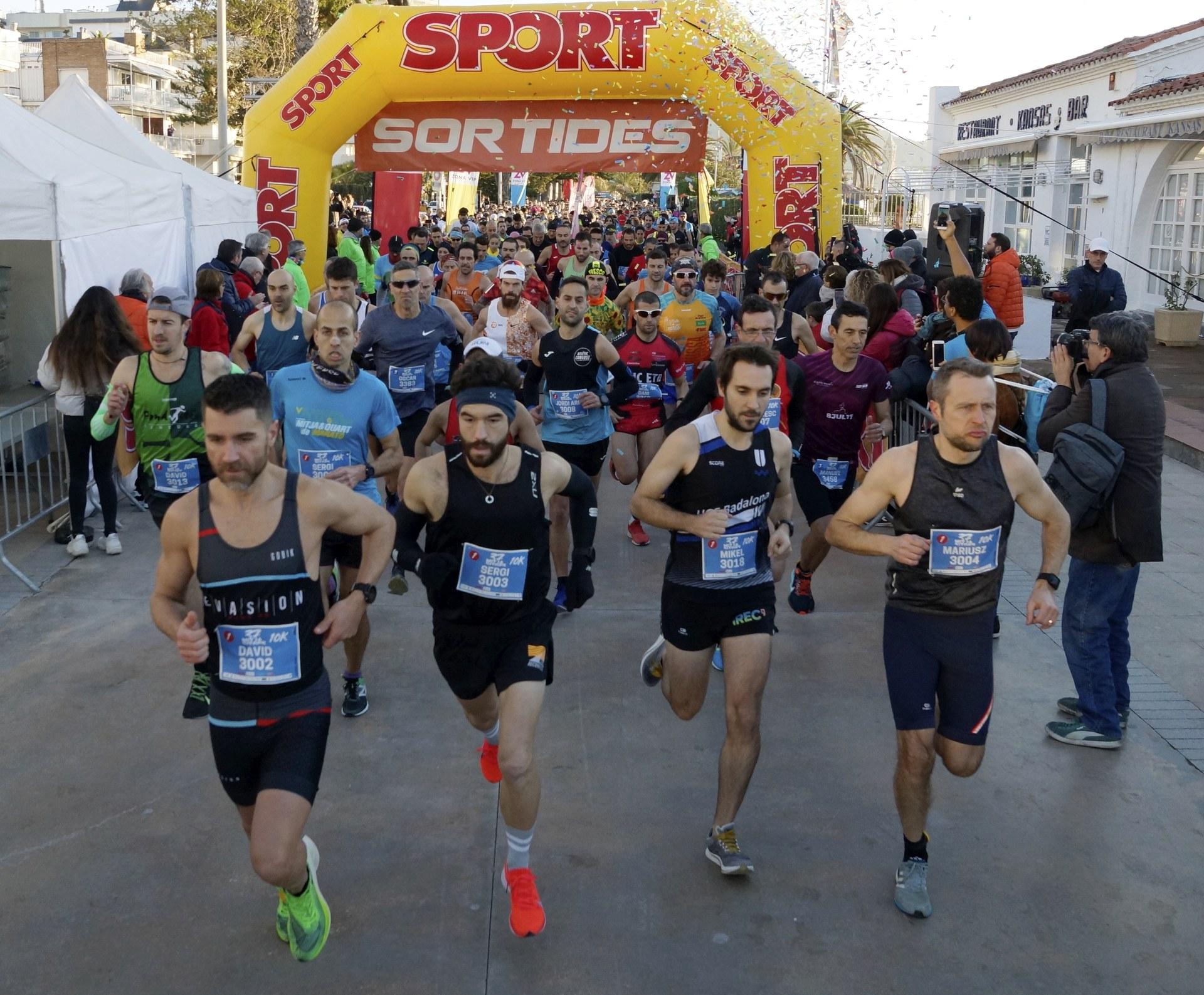 Imatge de la sortida dels corredors
