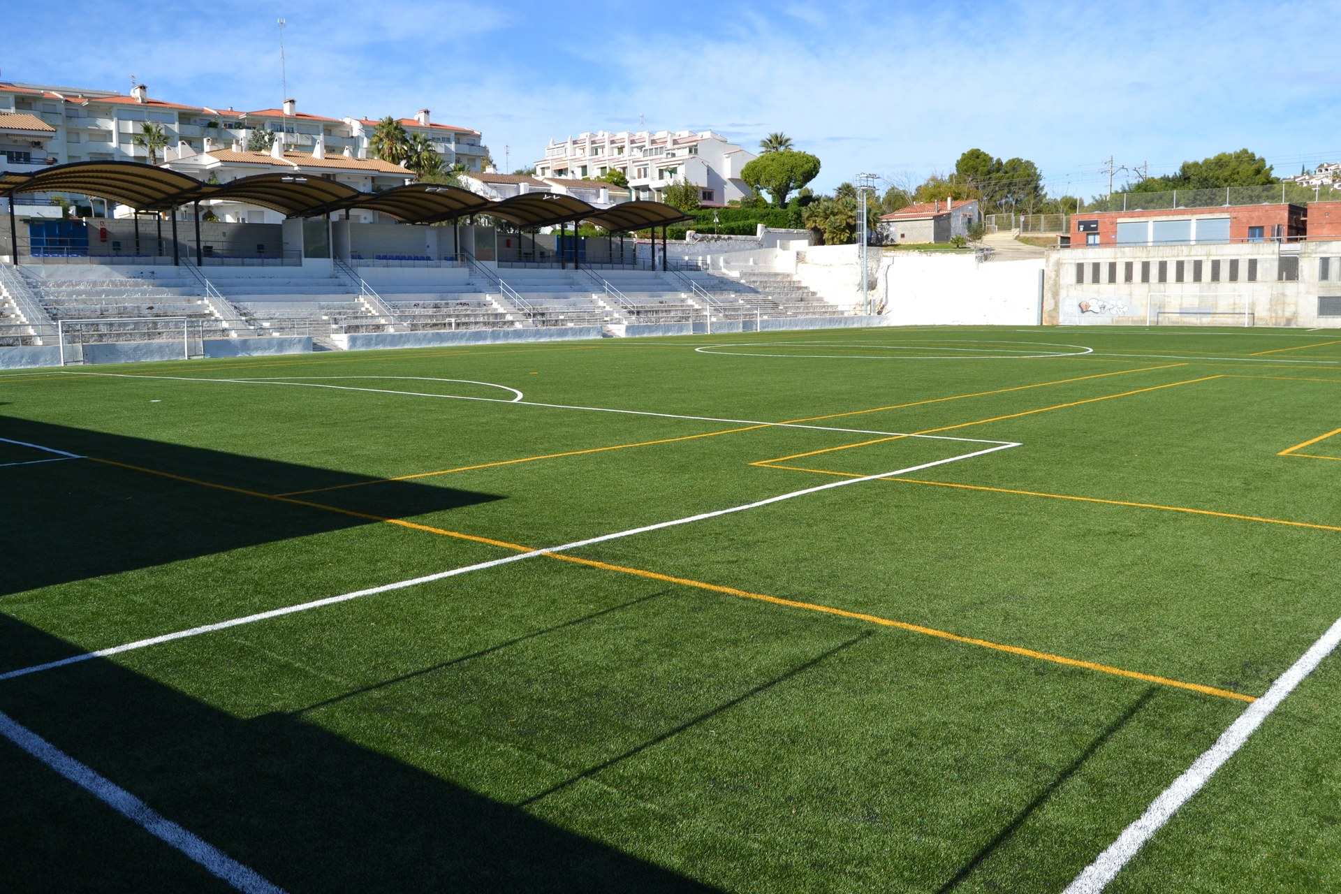 El Camp d'Aiguadolç lluïrà una placa en homenatge a Johan Cruyff