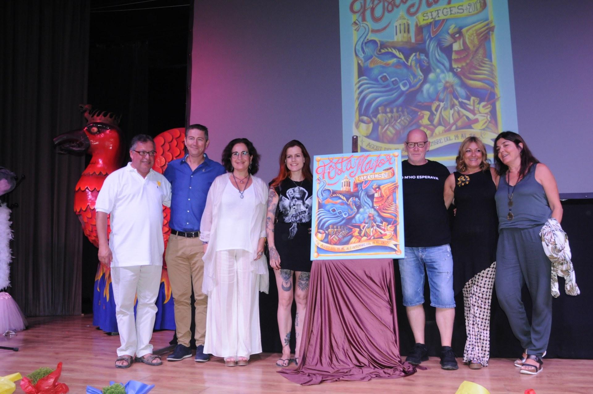 La presentació dels protagonistes ha protagonitzat el primer dels actes de la Festa Major 2019
