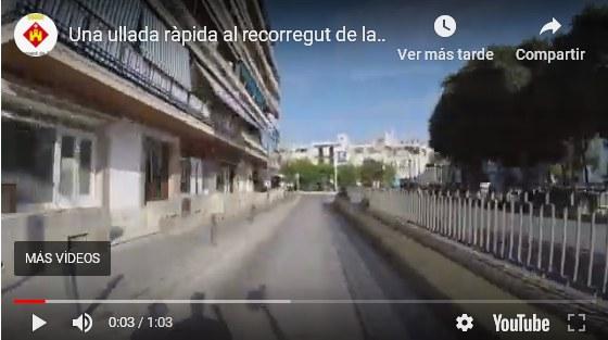 Restriccions de trànsit amb motiu de la Processó Cívica (Vídeo)