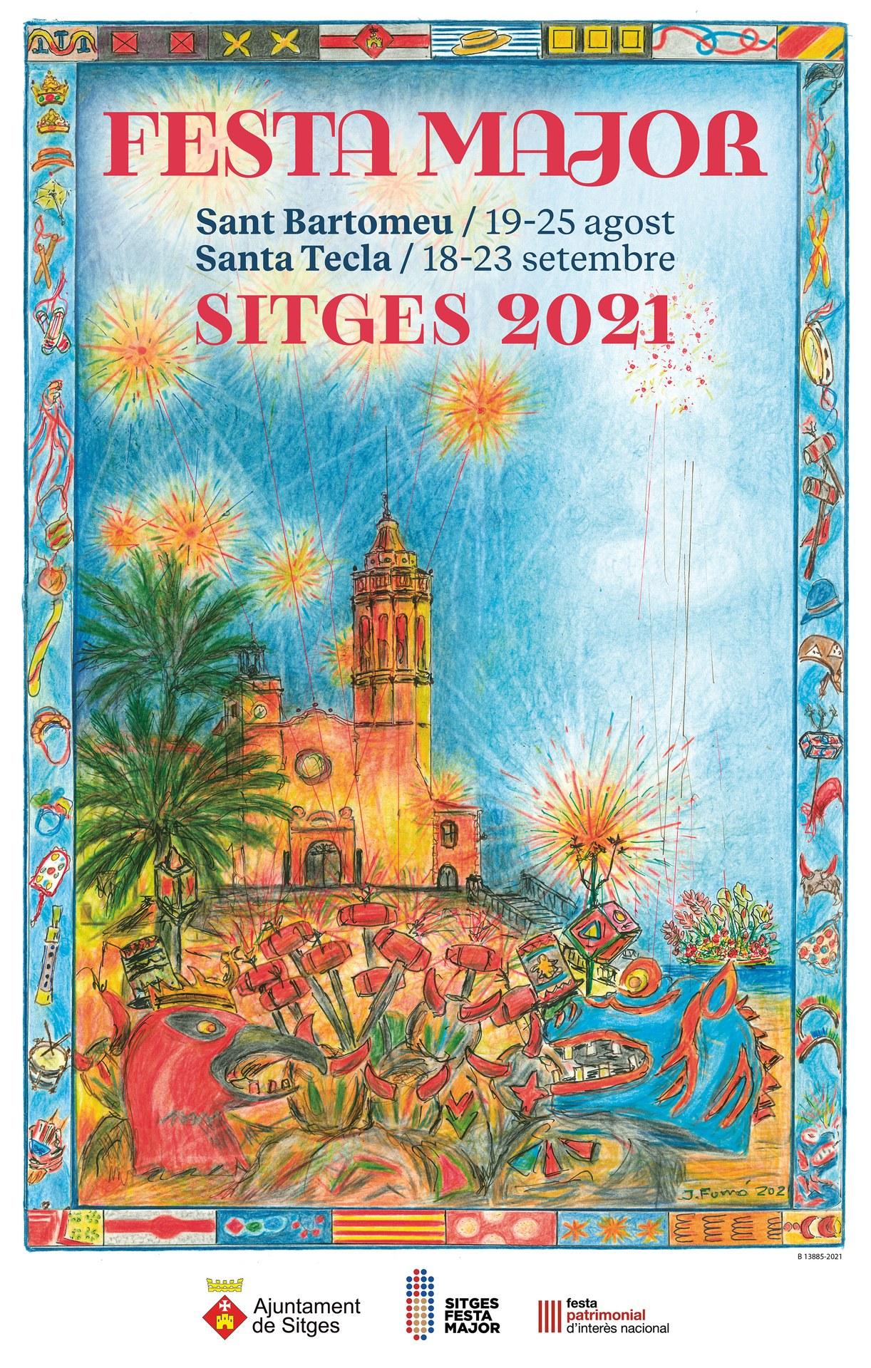 Sitges presenta la Festa Major del 2021