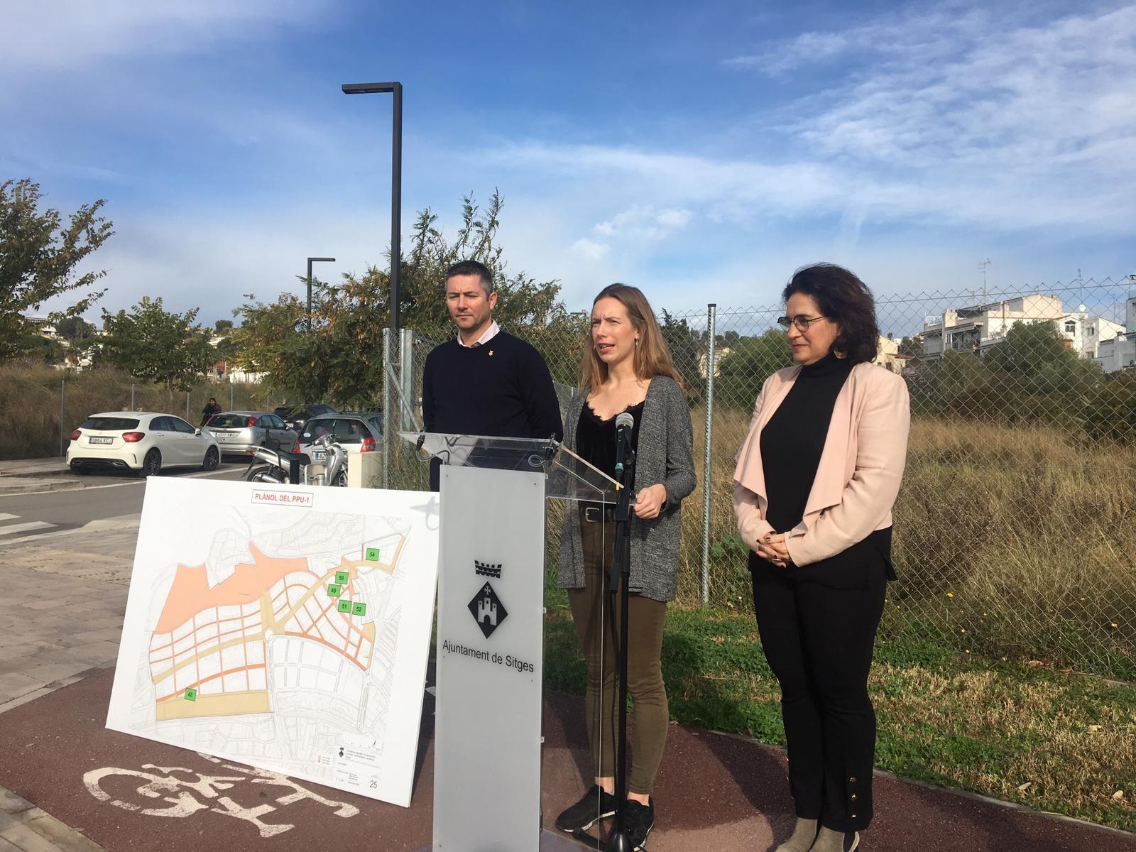 L'Ajuntament de Sitges construirà un total de fins a 175 pisos d'habitatge de protecció oficial públic i de lloguer