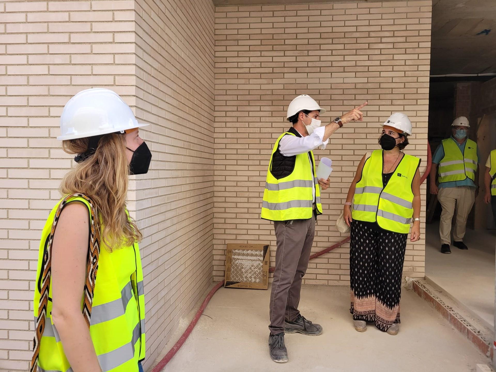Les dues primeres promocions d'habitatge públic avancen a bon ritme