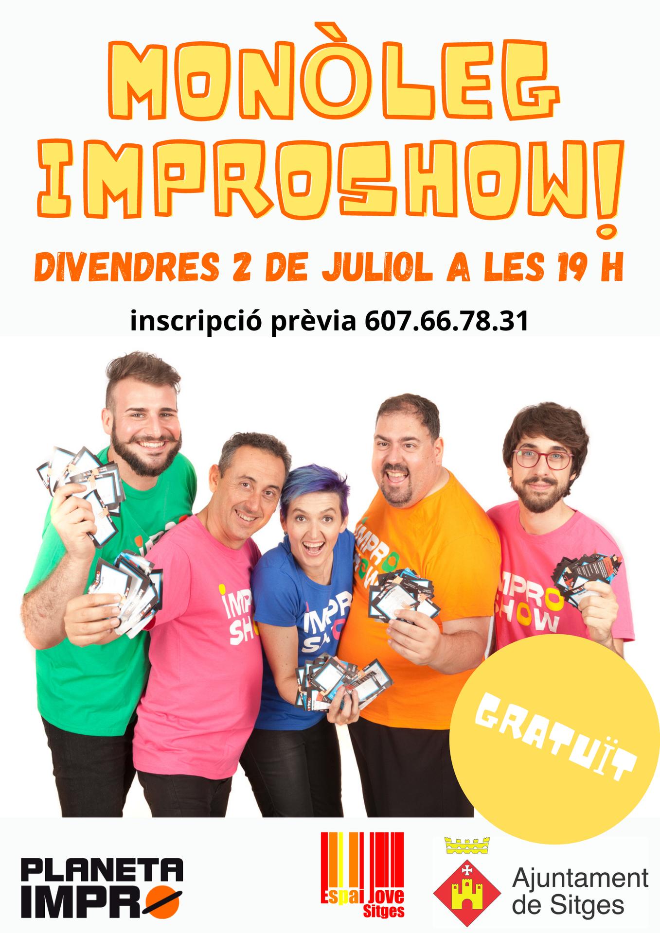 Espectacle d'humor Impro show