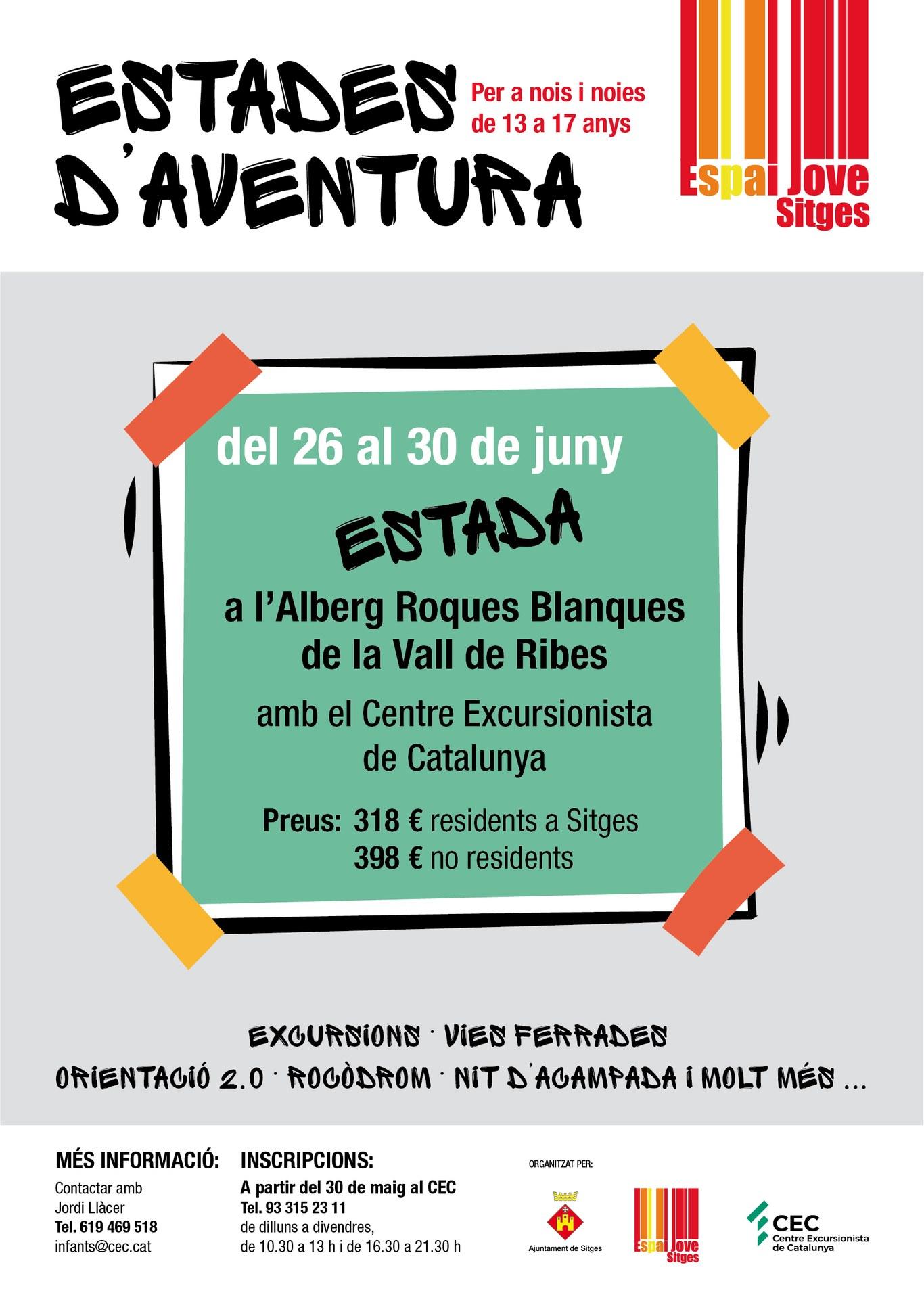 Estades d'Aventura a la Vall de Ribes a l'alberg Roques Blanques de la Vall de Ribes