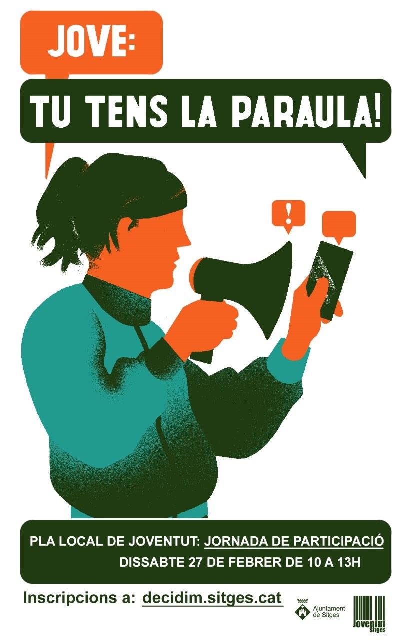 Jornada participativa 'JOVE: tu tens la paraula!'