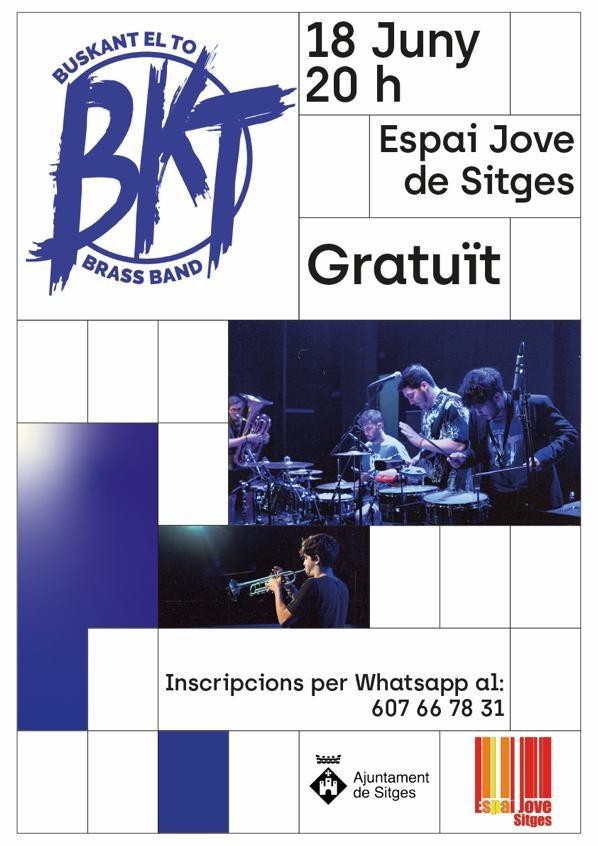 BKT Brass Band posarà ritme el 18 de juny al Parc del Rocar