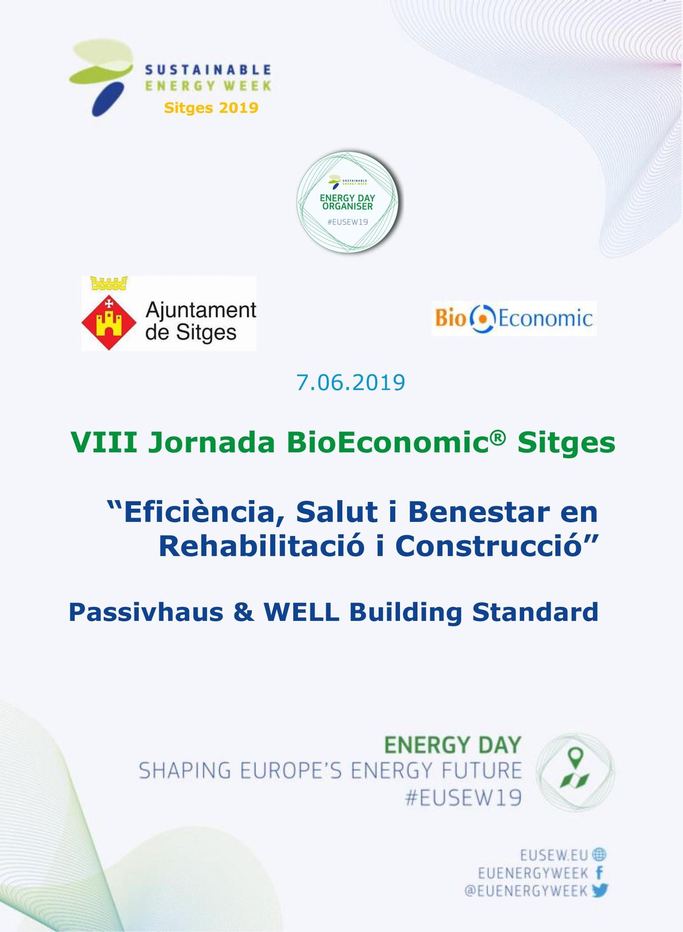VIII Jornada BioEconomic Sitges 2019
