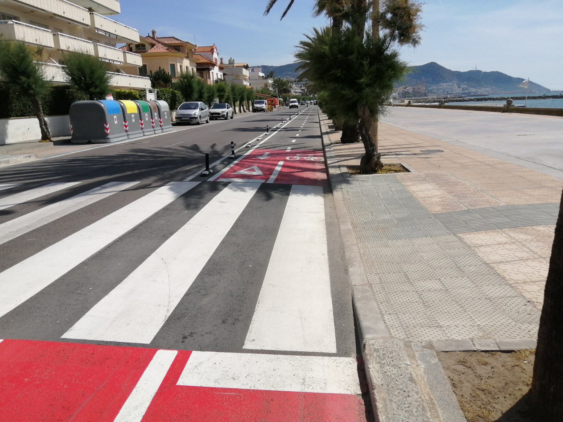 L'Ajuntament continua amb l'adaptació dels passos de vianants