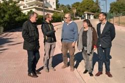 El barri de Santa Bàrbara estrena nou enllumenat, pavimentació i infraestructures