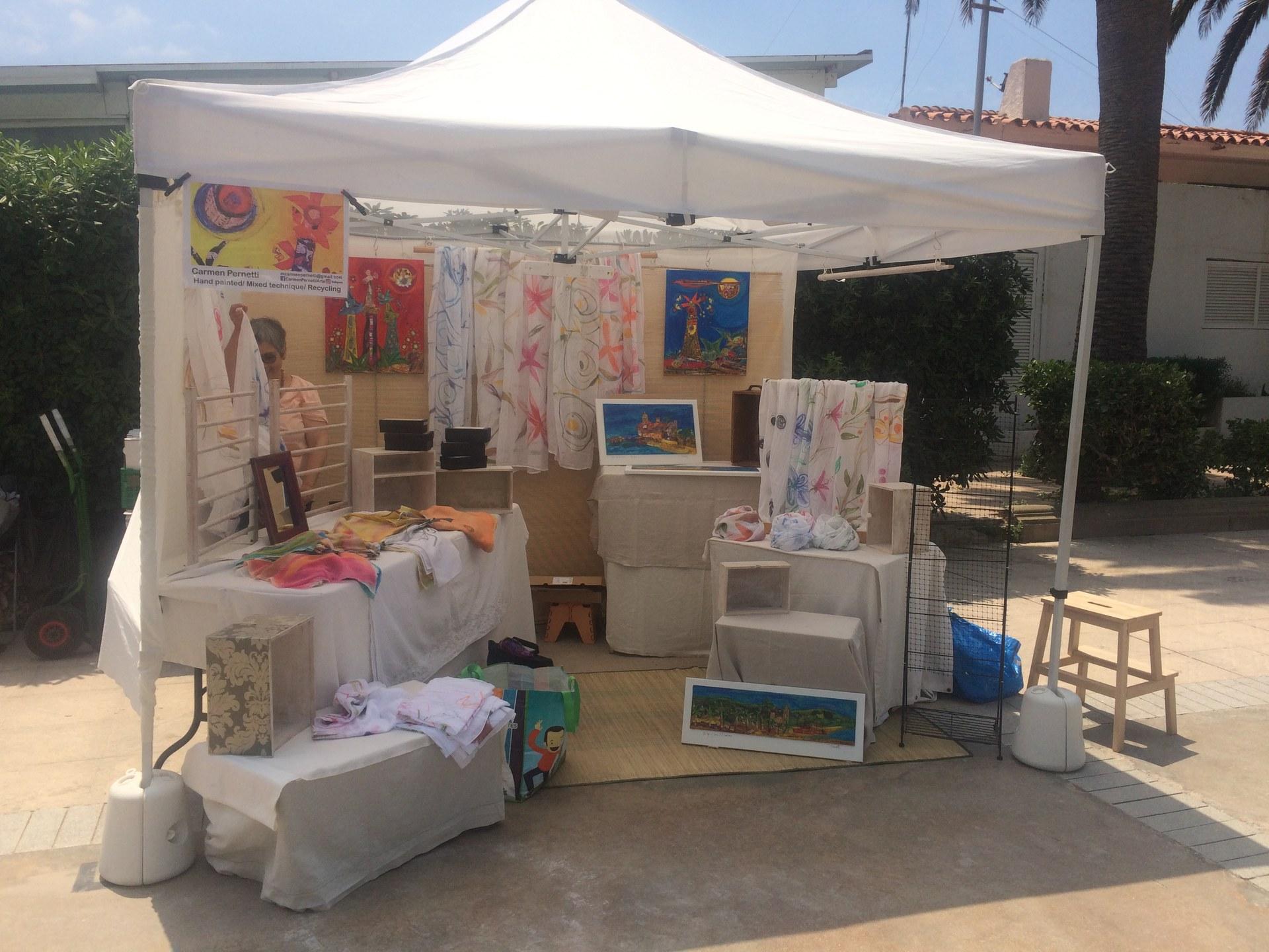 Inscripcions obertes per a la nova Fira-Mercat primavera-estiu 2021 de productes artesanals, fets a mà i creatius al Passeig Marítim de Sitges