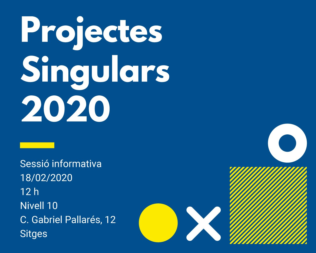 Programa 'Garraf Singular' 2020