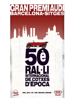 """Ral·li Internacional de Cotxes d'Època Barcelona-Sitges """"Gran Premi Audi"""""""