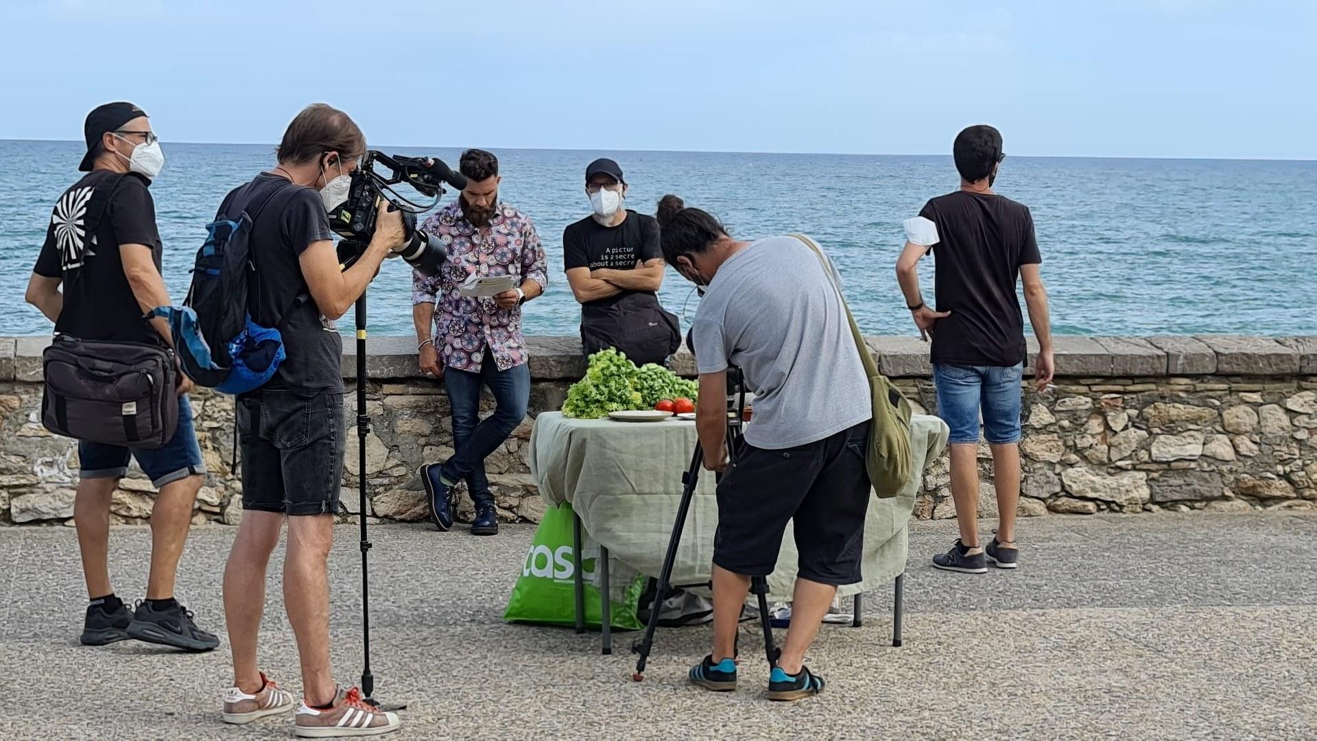 El programa de televisió 'Joc de Cartes estiu' enregistra a Sitges
