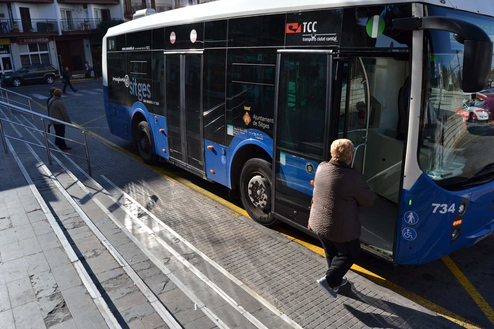 Jornada de bus gratuït