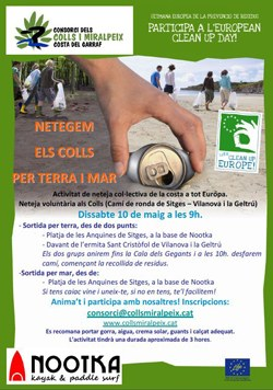 Neteja del Colls Miralpeix / Clean up Europe