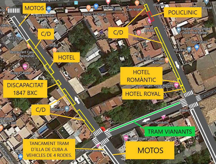 Els treballs s'iniciaran dilluns 9 de març, amb la renovació de l'asfalt del darrer tram del carrer Illa de Cuba