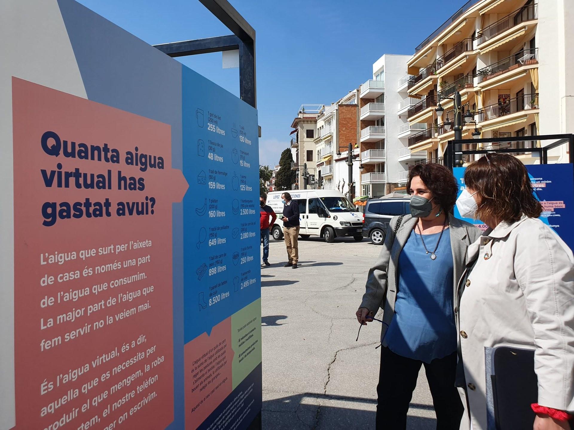 La Fragata acull una exposició per reflexionar sobre els usos de l'aigua al món actual