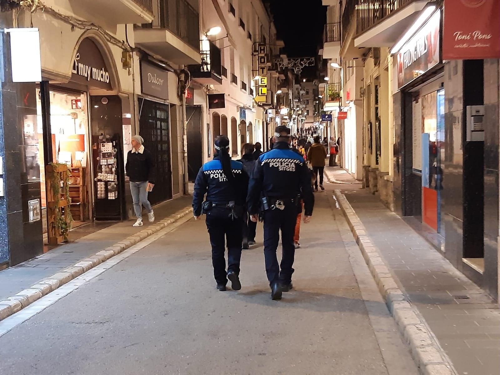 La Policia Local ha realitzat 600 hores de patrullatge a peu durant el Nadal
