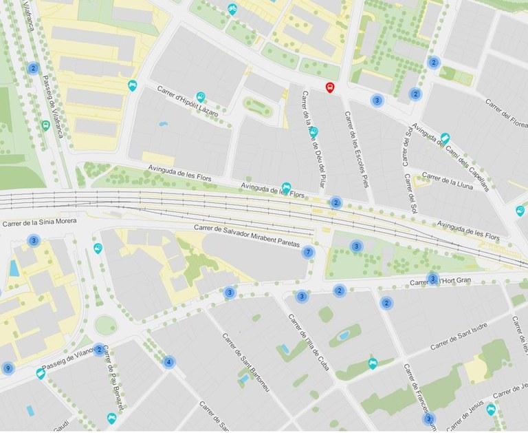 PLÀNOL MOBILITAT - Transport i aparcaments