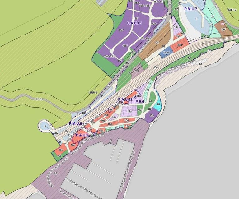 PLÀNOL URBANISME - Pla d'Ordenació Urbanística Municipal